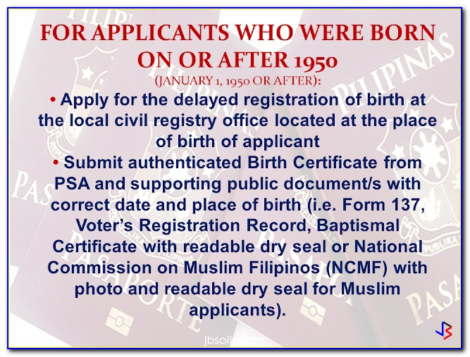 Authenticated Birth Certificate Online