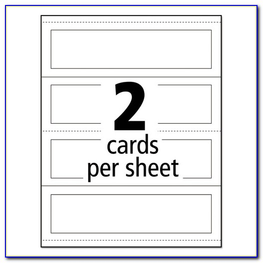 Avery 5305 Tent Card Template Word