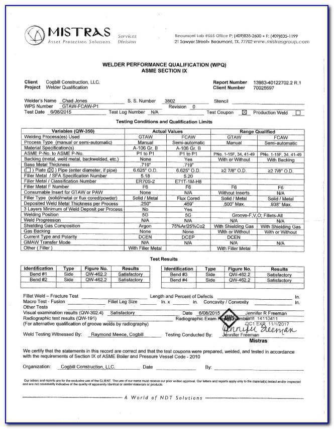 Aws 6g Welding Certification