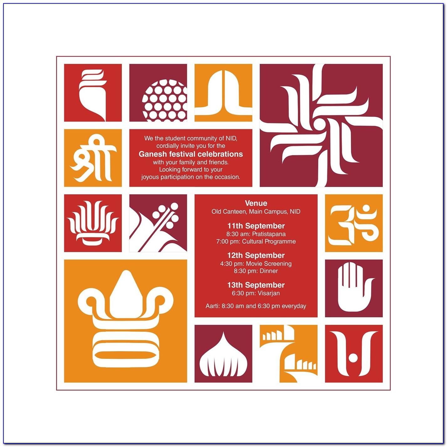 Bangladeshi Gaye Holud Invitation Cards Word