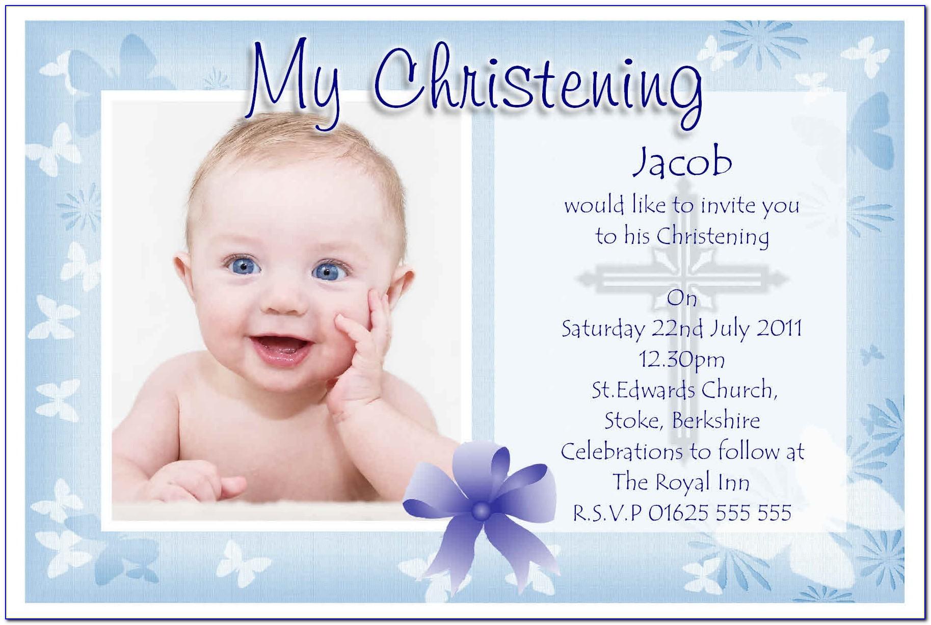 Baptism Card Template Ks1