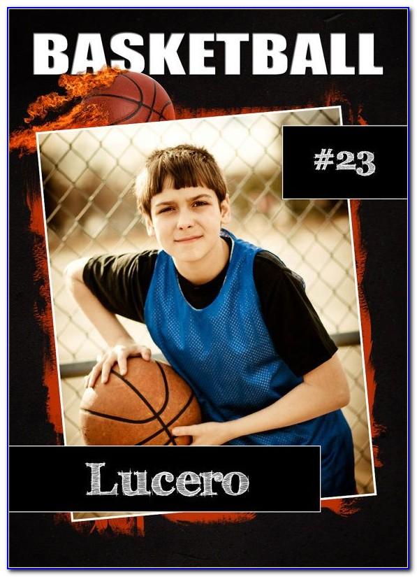 Basketball Trading Card Template