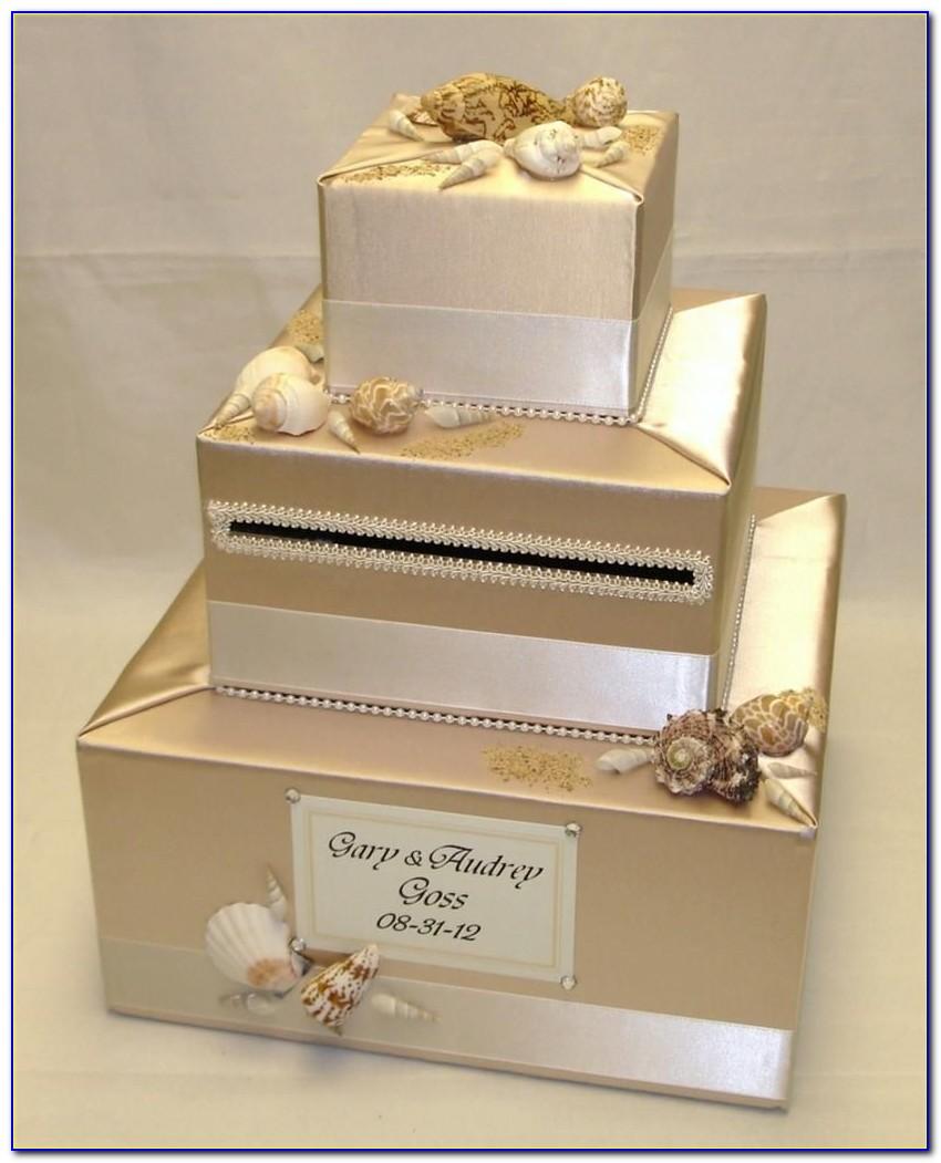 Beach Themed Wedding Card Box Ideas
