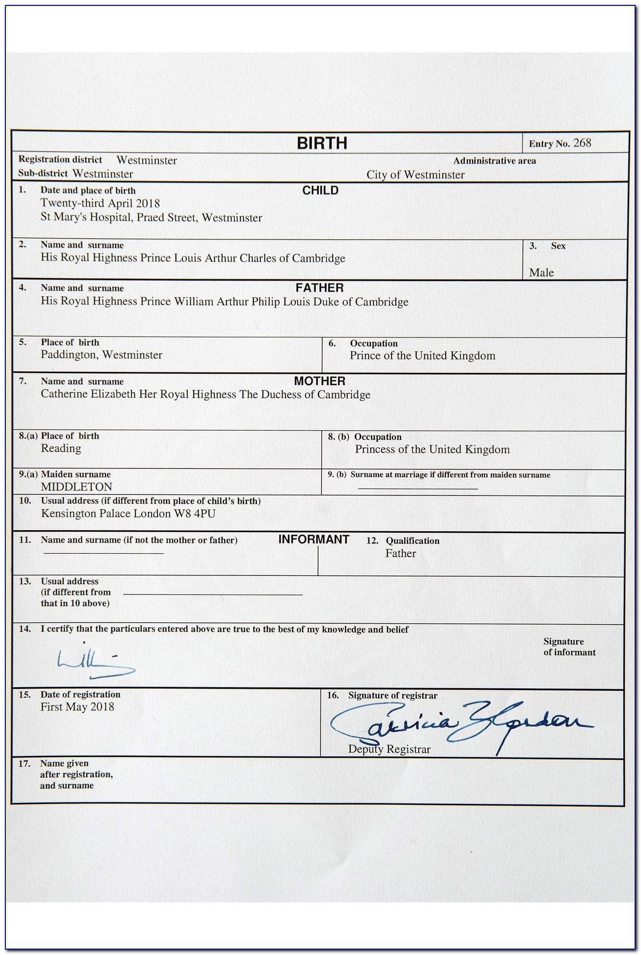 Birth Certificate Bakersfield Ca Address