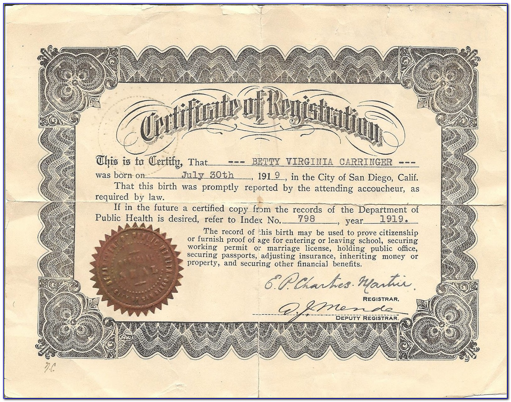 Birth Certificate Replacement Iowa