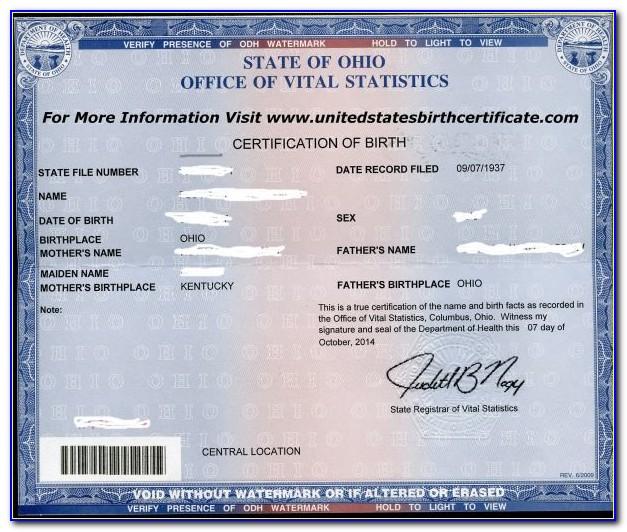 Birth Certificate Replacement Lafayette Louisiana