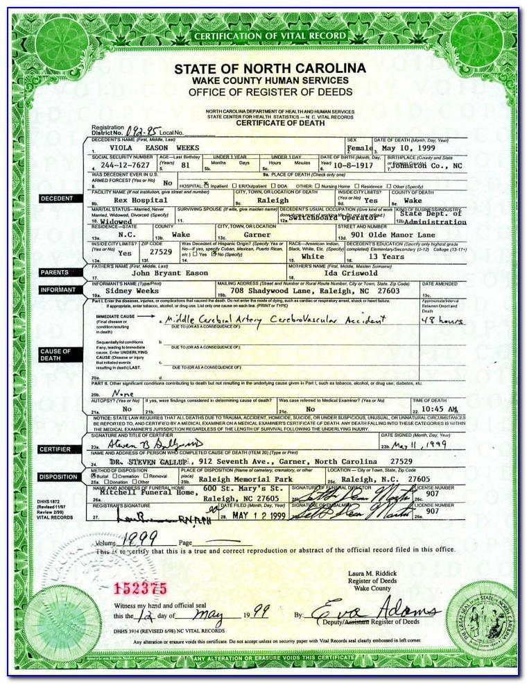 Birth Certificate Riverside California