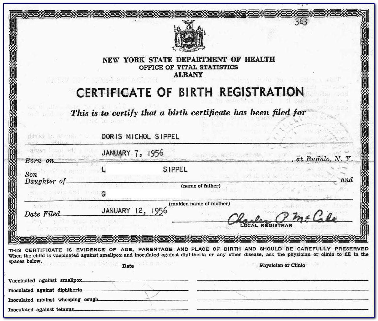 Birth Certificate Riverside County California