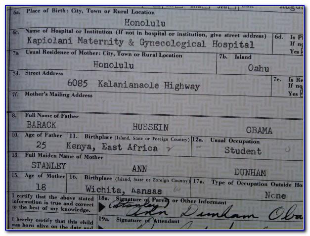 Birth Certificate Seattle Cost