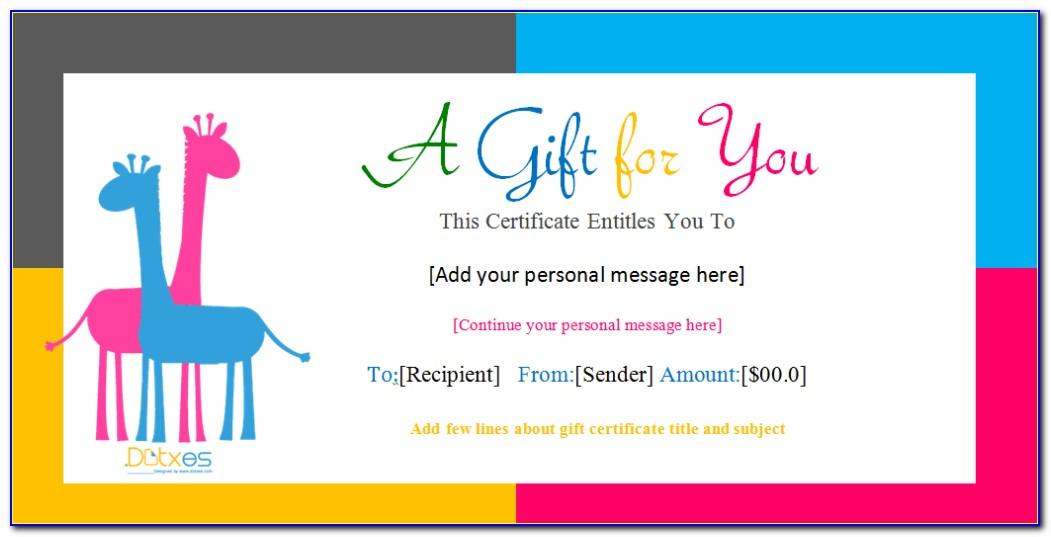 Birthday Certificate Templates Free Printable