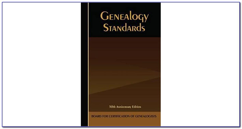Board For Certified Genealogists