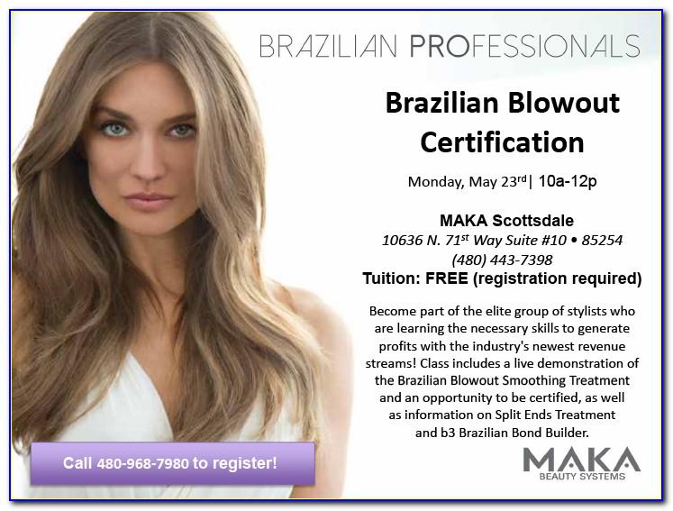 Brazilian Blowout Certification Near Me