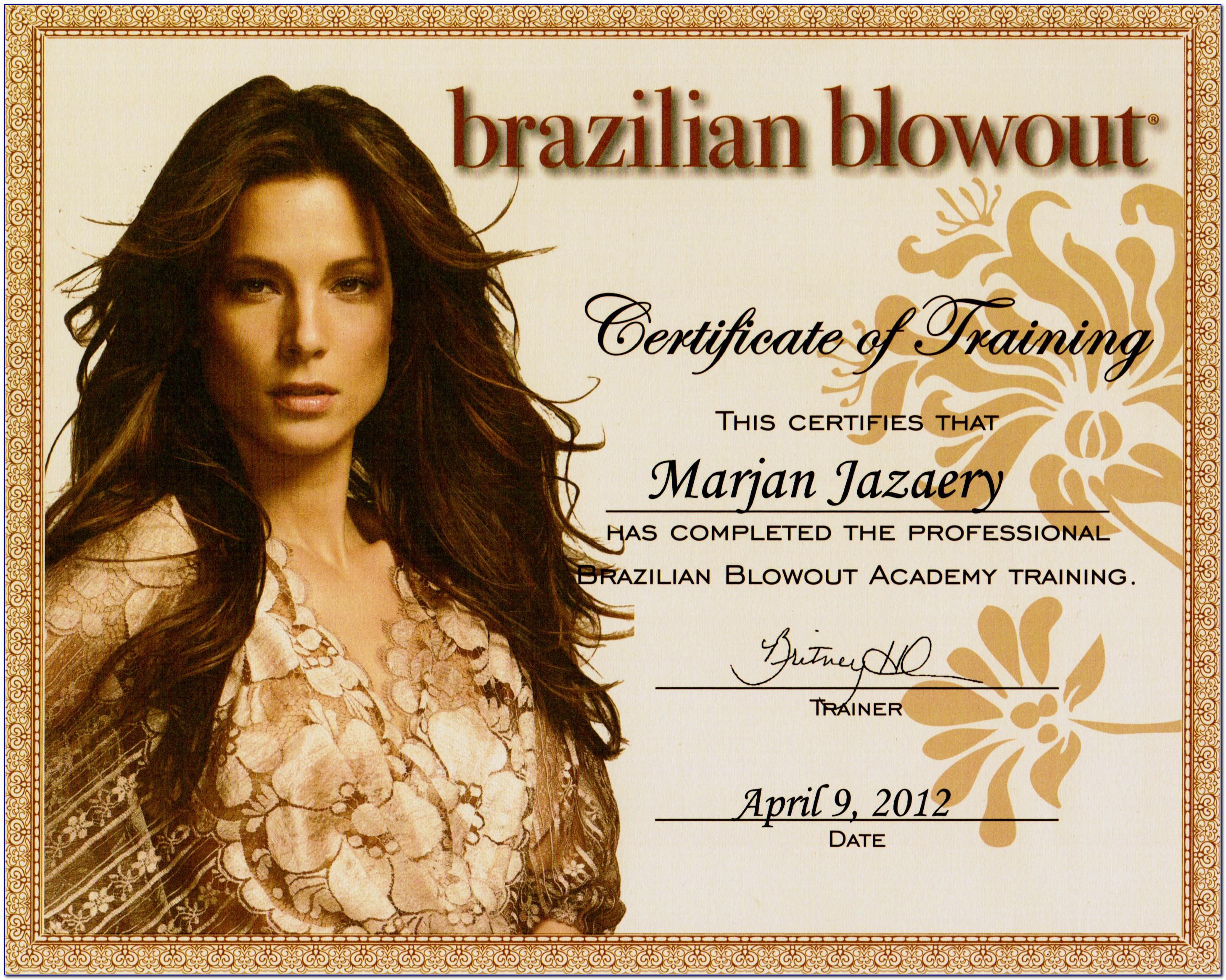 Brazilian Blowout Certification Video