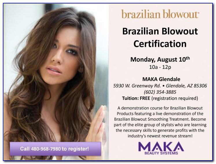 Brazilian Blowout Professional Certification