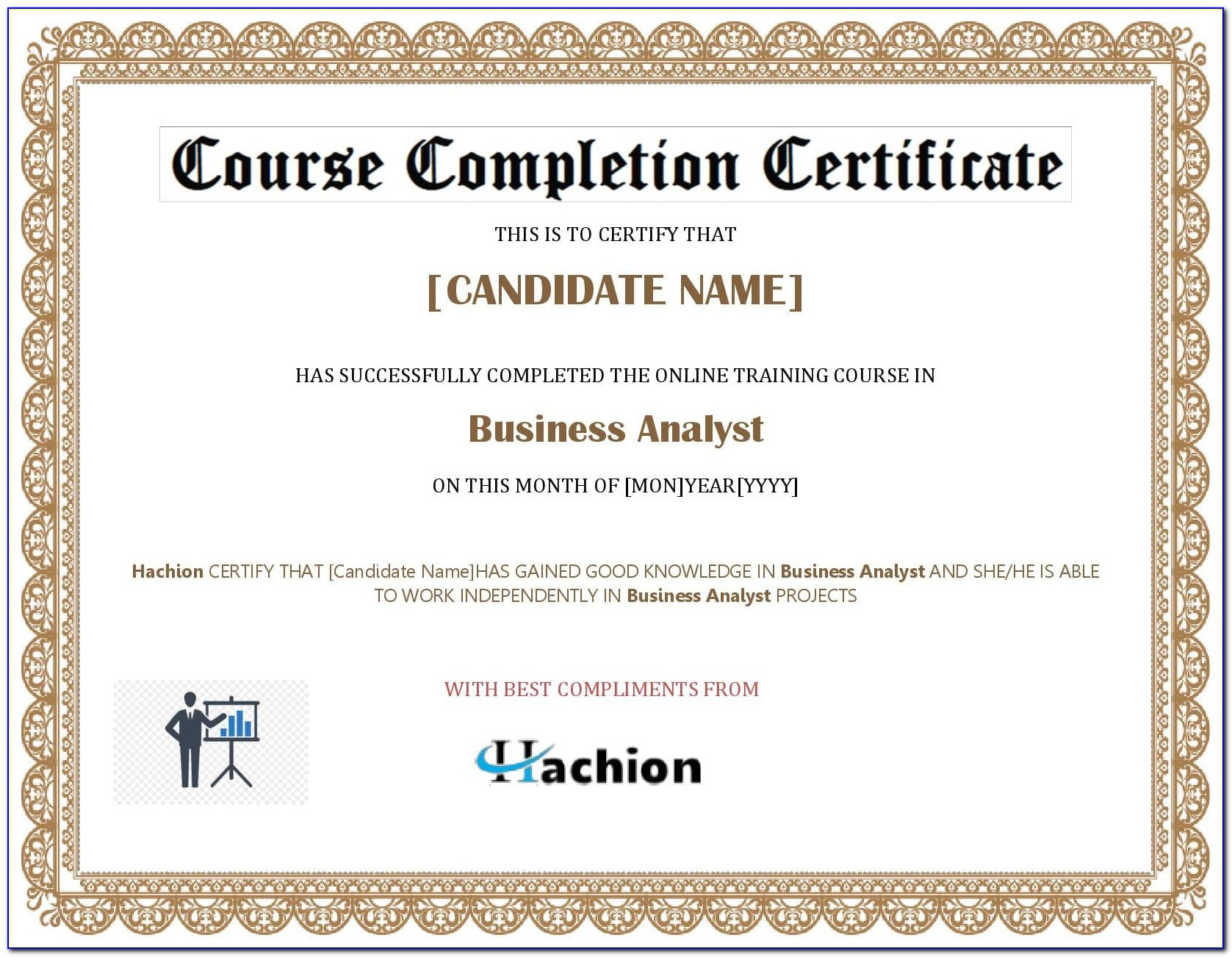 Business Analyst Certification Online Cost