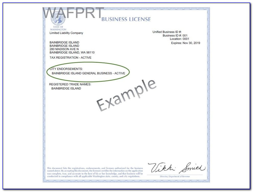 Business Tax Certificate Los Angeles
