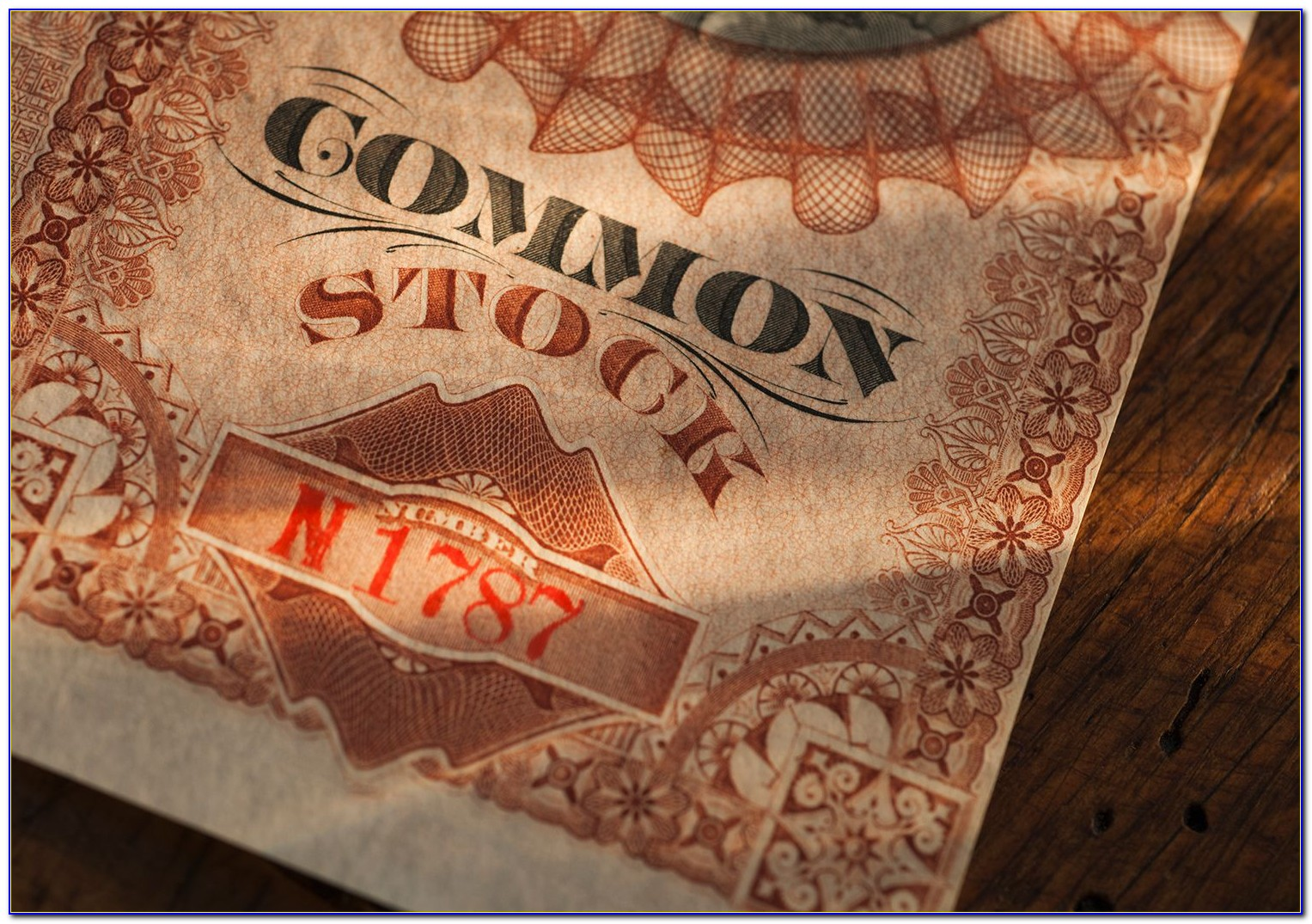 Cashing In Old Stock Certificates