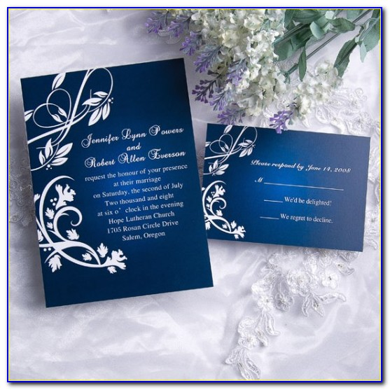 Cheap Wedding Invites With Response Cards