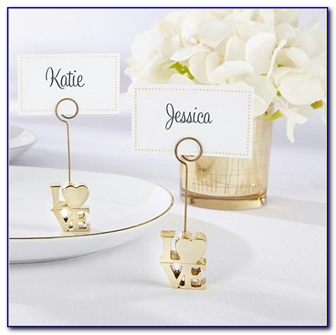 Cheap Wedding Place Card Holders