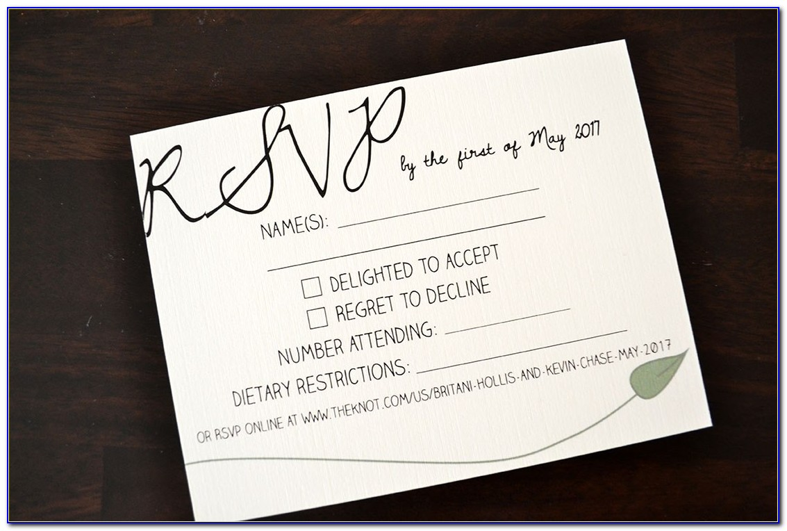 Cheap Wedding Rsvp Cards