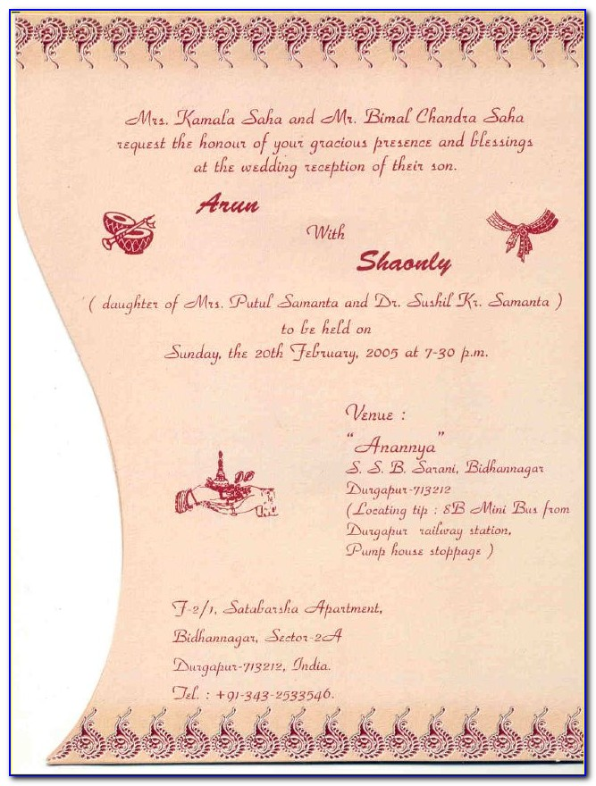 Christian Wedding Invitation Cards Wordings In English