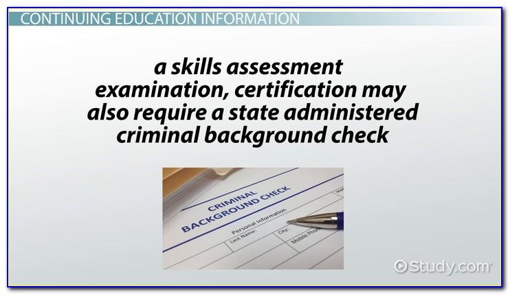 Cna Certification Renewal Oklahoma