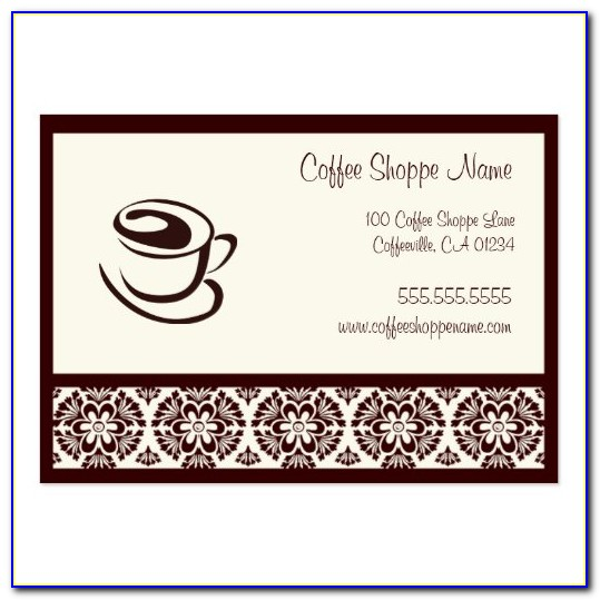 Coffee Punch Card Template