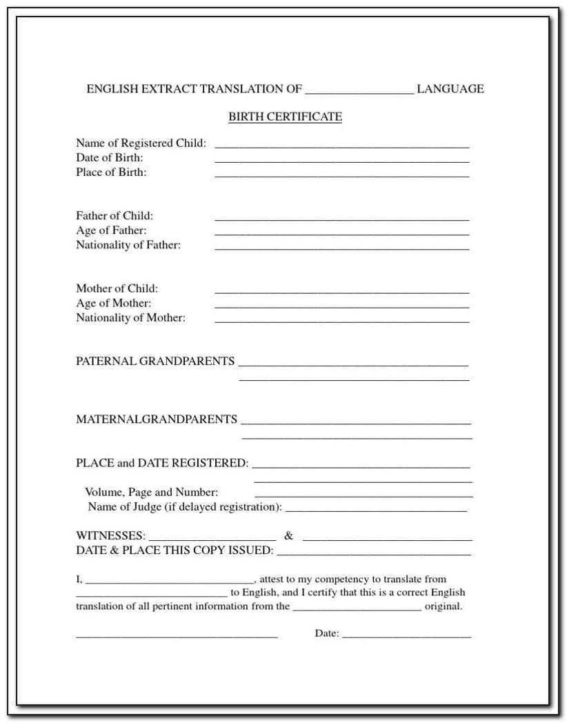 Copy Of Birth Certificate Lubbock Texas