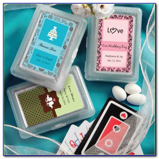 Custom Deck Of Cards Wedding Favors