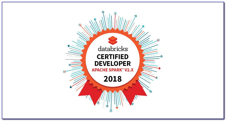 Databricks Spark Certification Questions