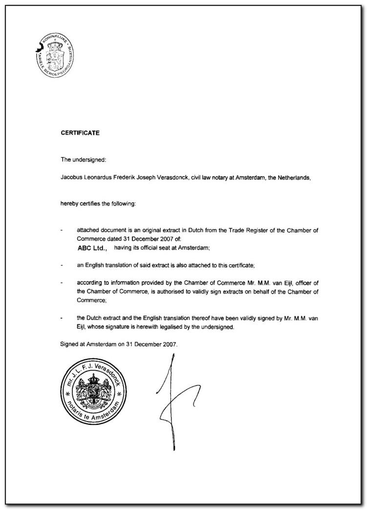 Dc Certificate Of Good Standing Bar