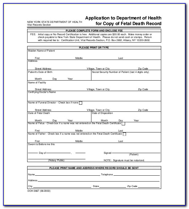 Death Certificate Template Australia