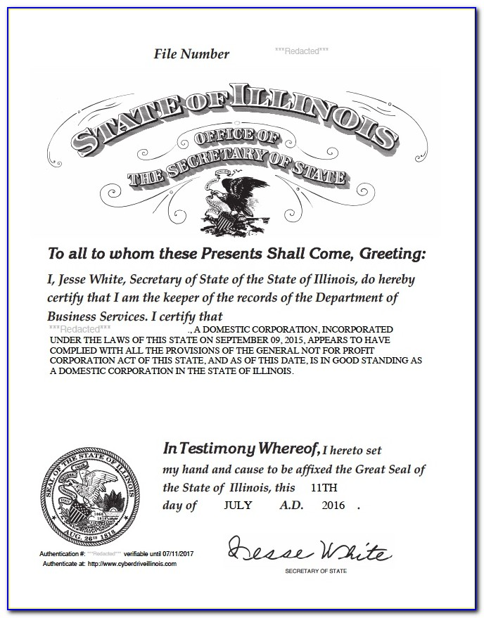 Delaware Certificate Of Formation Copy