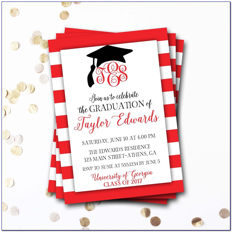 Design Graduation Invitation Card