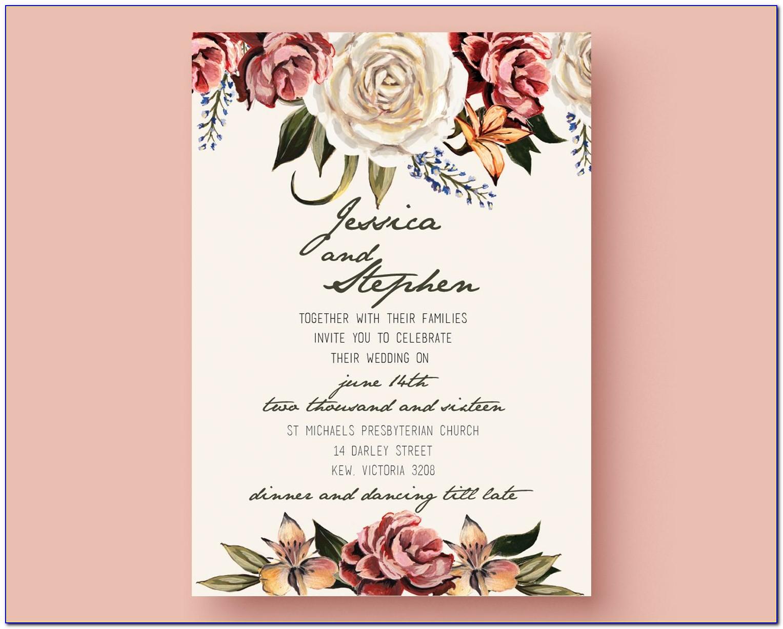 Digital Invitation Card Size