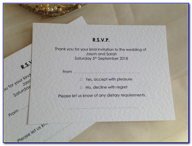 Do Shutterfly Wedding Invitations Come With Rsvp Cards