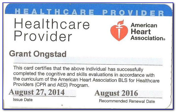 Does Cpr Certification Expire