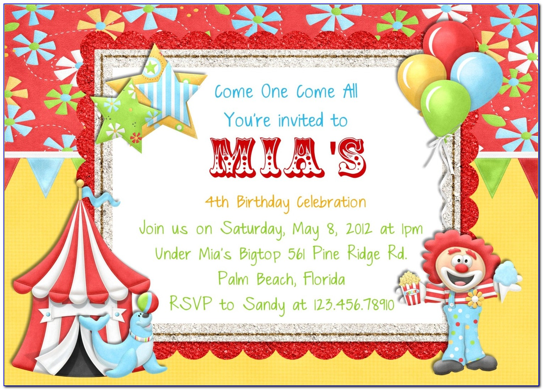 Download Invitation Card Template Free