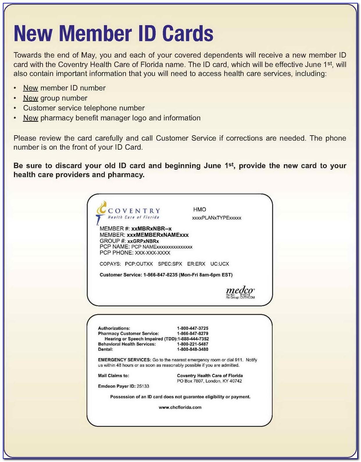 Download Progressive Auto Insurance Card Template