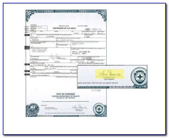 Dupage County Birth Certificate Replacement
