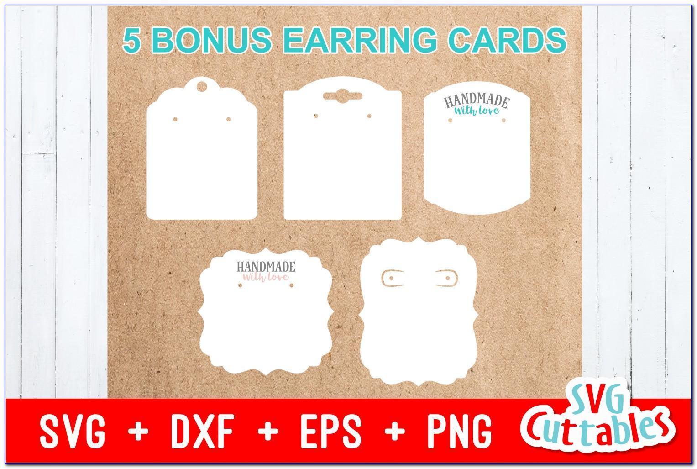 Earring Card Template Downloads