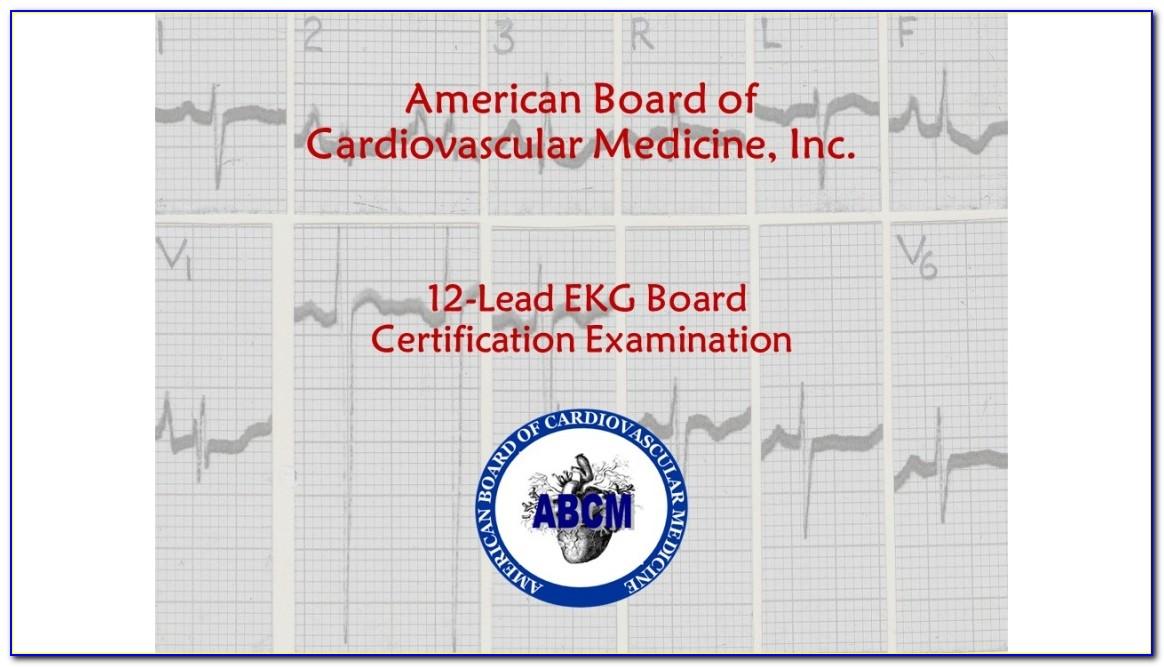 Ekg Technician Certification Near Me