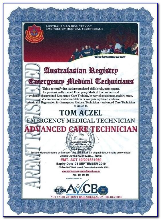 Emt Certification Nj Rutgers