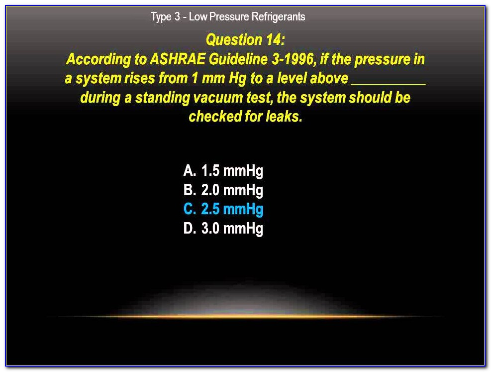 Epa 608 Certification Practice Test And Answers Pdf