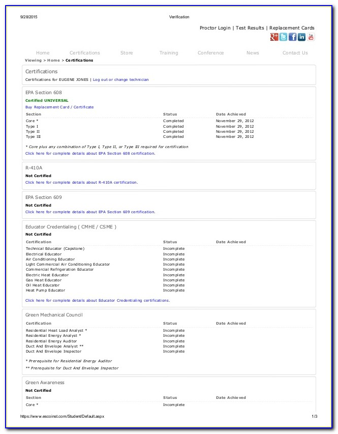 Epa 608 Certification Test