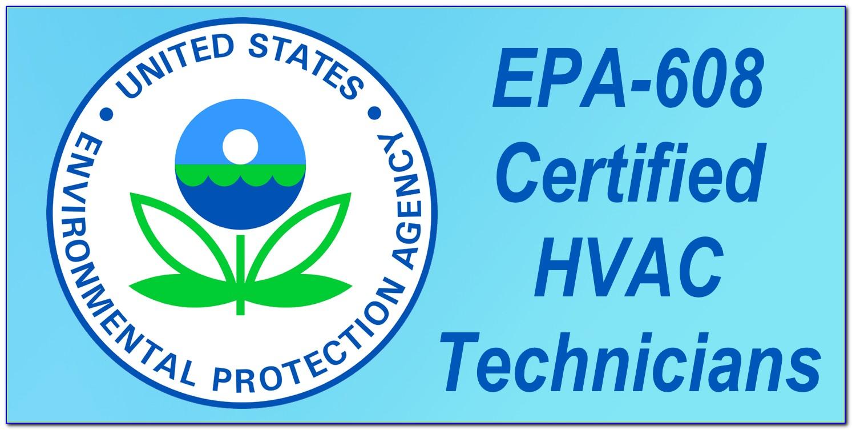 Epa Refrigerant Certification Online