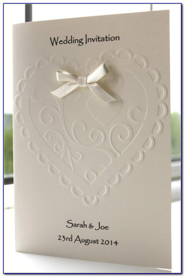 Etsy Wedding Card Design