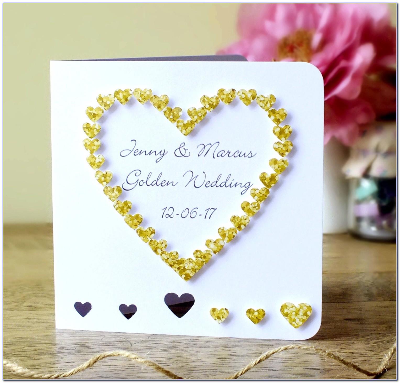 Etsy Wedding Cards Uk