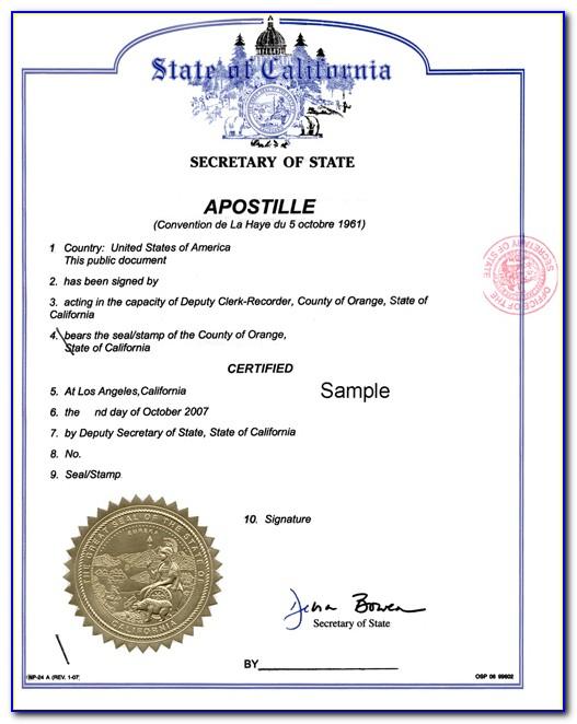 Expedited Birth Certificate California