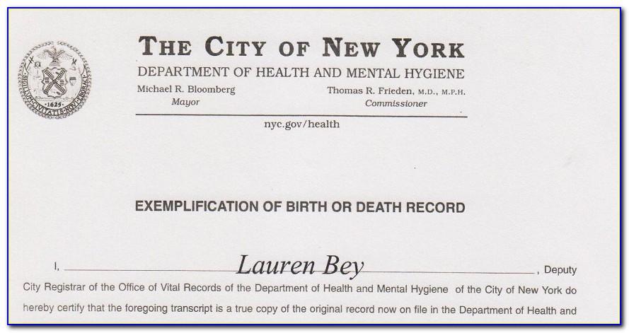 Expedited Birth Certificate Georgia
